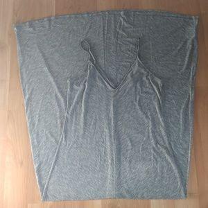 Gray Mossimo Maxi Dress
